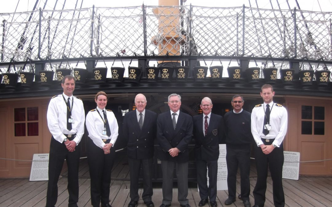 Visit to HMS Westminster & Royal Navy Dockyard Portsmouth