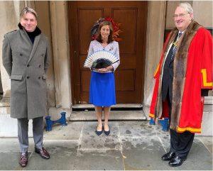 Lady Mayoress Fan Presentation